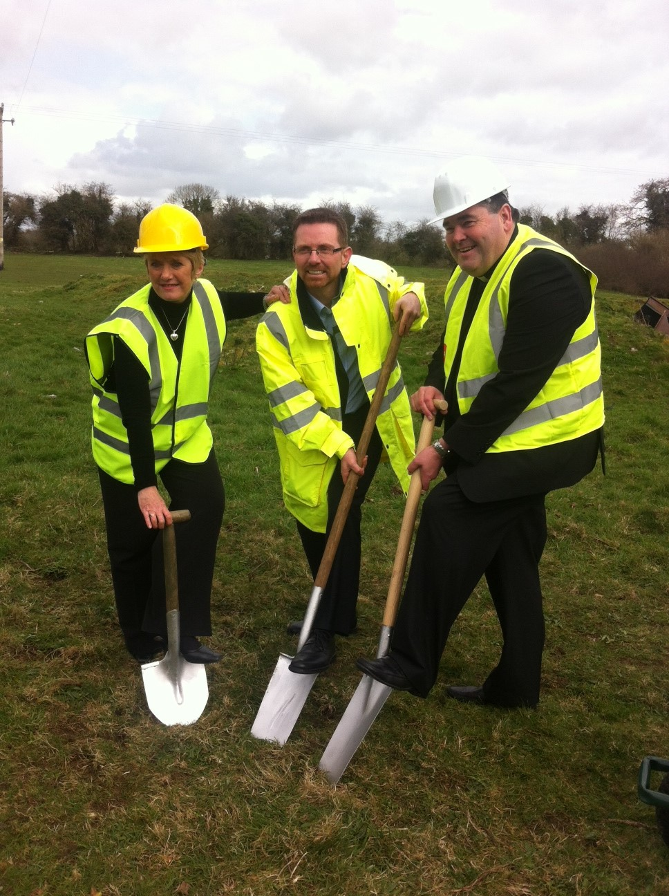 Crookstown sod turning