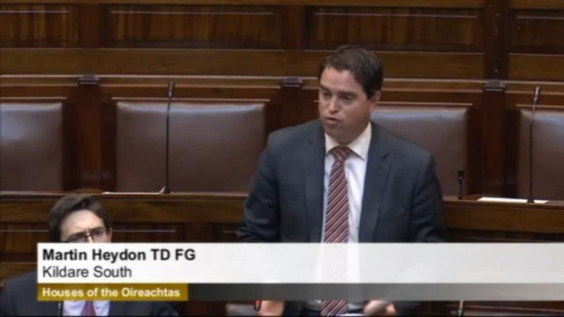 Screenshot dail speech